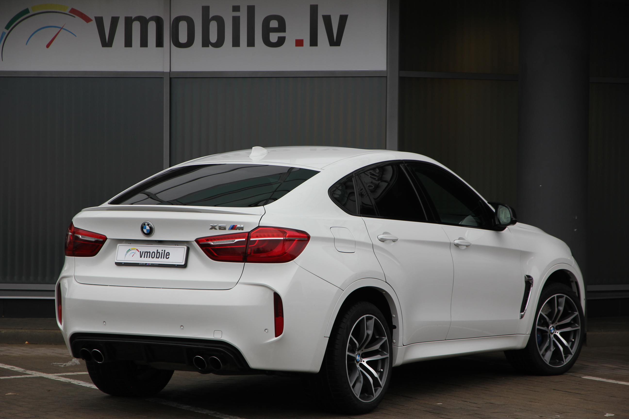 VMOBILE.LV | BMW X6M 575hp